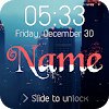 Wave Name Lock Screen APK