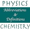 Physics, Chemistry Abr & Defs APK