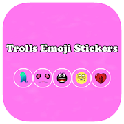Trolls Emoji Stickers Face APK