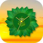 Leaf Clock Live Wallpaper APK