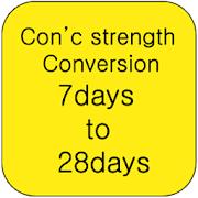 Convert concrete strength APK