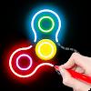 Draw Finger Spinner APK