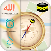 Qibla Compass & Prayer Times APK