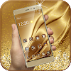 Gold Luxury Deluxe Theme APK