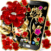 Gold rose live wallpaper APK
