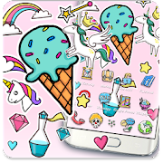 Rainbow Unicorn Theme APK
