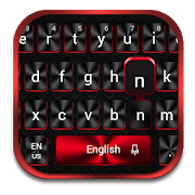 Cool Red Black Keyboard APK