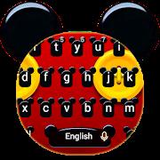 Cute Micky Bowknot Keyboard Theme APK
