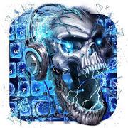 Skull Wallpaper Keyboard APK