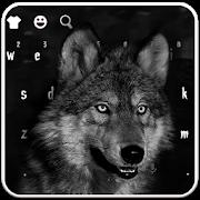 Night Wild Wolf Keyboard Theme APK