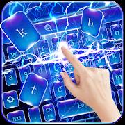 Lightning Blue Keyboard Theme APK