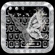 Luxury Diamond Butterfly Keyboard Theme APK