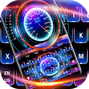 Racing Car Hologram Keyboard APK