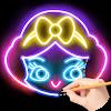 Draw Glow Princess APK