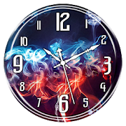 Smoke Clock Live Wallpaper APK