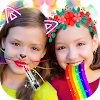 Crazy Rainbow Selfie Lense Camera Girl Makeup Cam APK