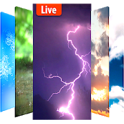 Animated weather live wallpaper& background APK