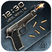 Gun&bullet lock screen APK