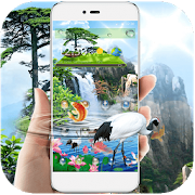 Natural Waterfall Wallpaper APK