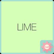 Colorful Talk - Lime 카카오톡 테마 APK