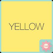 Colorful Talk - Yellow 카카오톡 테마 APK