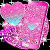Pink glitter live wallpaper APK