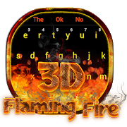 3D Red Flaming Fire Keyboard 10103 Android Latest Version Download