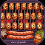 Roast Meat Theme&Emoji Keyboard APK