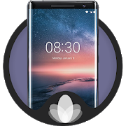 Nokia 8 Sirocco Theme and launcher APK