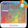 XPERIA™ Triflat Theme APK