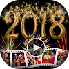 Happy New Year Video Maker - 2018 Video Editor APK