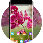 Spring flowers theme orchids space interstellar APK