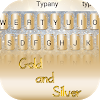Gold and Silver Theme Keyboard APK