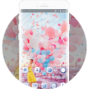 Sweet beauty confession balloons theme APK