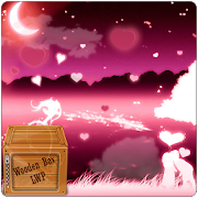happy valentine day pink lwp APK