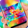 Rainbow Glass Keyboard for Xiaomi APK