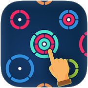 ZK1 - Circle puzzle color rings mind free game APK