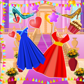 Girls Fashion Games - Castle Party Decorating  APK 1