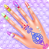 Beauty Girl at Nail Salon  in PC (Windows 7, 8 or 10)