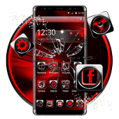 3d black red theme 1.1.2 Android for Windows PC & Mac