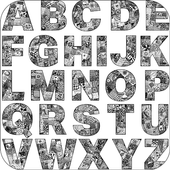 Alphabet Doodle Art Drawings  Latest Version Download
