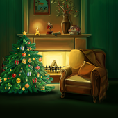 Christmas Fireplace Wallpaper  Latest Version Download