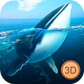 Big Blue Whale Underwater Survivor Simulator 3D 1.0.0 Latest Version Download