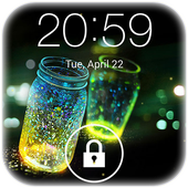 Fireflies lockscreen APK 56