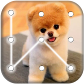 Puppy Dog Pattern Lock Screen 4.6 Android for Windows PC & Mac