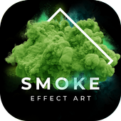 Smoke Effect - Focus N Filter, Text Art Editor