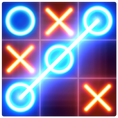 Tic Tac Toe glow - Free Puzzle Game APK 3.0