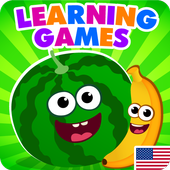FunnyFood Kindergarten learning games for toddlers APK 2.0.1.2