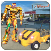 Robot Shopping Mall Taxi Driver  Latest Version Download