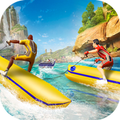 Banana Boat Water Speed Race  Latest Version Download
